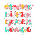 Alphabet cartoon children's