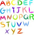 Alphabet icons Royalty Free Stock Photo