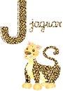 Alphabet j Stock Images