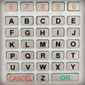 Alphabet Keypad