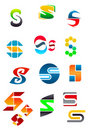 Alphabet letter S Stock Images