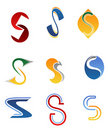 Alphabet letter S Stock Photos