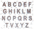 Alphabet With People