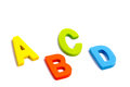 Alphabet Puzzle Pieces isolated