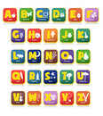 Alphabet Toys Stock Photography
