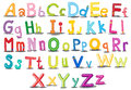 Alphabets Royalty Free Stock Photo
