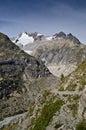 Alpi italiane - Mont Blanc Immagini Stock Libere da Diritti