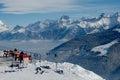 Alpine Balcony Royalty Free Stock Photo