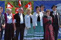 Alpine Horn Festival Royalty Free Stock Images