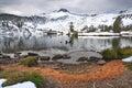 Alpine Lake, Wallowa Mountains, Oregon Royalty Free Stock Photo