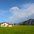 Alpine landscape in Austria Stock Photo
