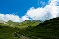 Alpine Landscape, Rofan Mounta...