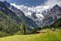 Alpine mountain view in Austria Stock Photos
