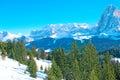 Alpine mountains Royalty Free Stock Photo