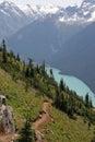 Alpine Paradise Stock Image