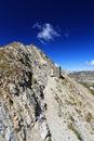 Alpine pathway Stock Image