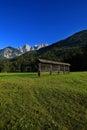 Alpine Scene, Slovenia, Europe