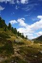 Alpine scenery Stock Photography