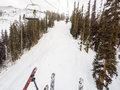 Alpine skiing loveland basin colorado usa december typical winter day of at loveland basin ski area Royalty Free Stock Images