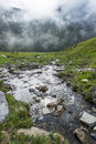 Alpine torrent Royalty Free Stock Photo