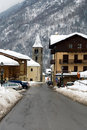 Alpine Village, Italy Royalty Free Stock Photo