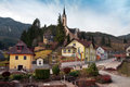 Alpine village Prein on the RAX. Lower Austria Royalty Free Stock Photo