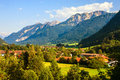 Alps in bavaria countryside germany Royalty Free Stock Photography