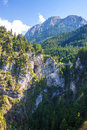 Alps in bavaria germany Stock Photo