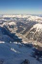 The Alps, Chamonix valley Stock Photo
