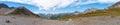 Alps, France (Col de Seigne) - Panorama Stock Image