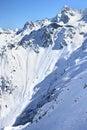 Alps french Στοκ Φωτογραφία