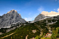 Alps mountain scenery Royalty Free Stock Photo