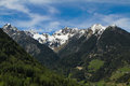 Alps Mountains in Switzerland Royalty Free Stock Photo