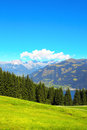 Alps in tirol austria mountains Stock Image