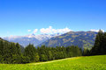 Alps in tirol austria mountains Royalty Free Stock Photo