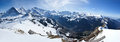 Alps from the top Royalty Free Stock Photography