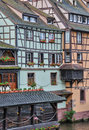 Alsace old and historical district in strasbourg france Royalty Free Stock Image