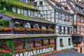 Alsace old and historical district in strasbourg france Royalty Free Stock Photo