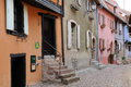 Alsace the picturesque old village of eguisheim france Royalty Free Stock Photography