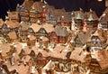 Alsatian houses strassbourg december colorful on the christmas market in strasbourg on december in strasbourg france christmas Stock Photos