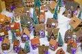 Alsatian houses strassbourg december colorful on the christmas market in strasbourg on december in strasbourg france christmas Royalty Free Stock Images