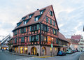Alsatian style house in molsheim alsace france Royalty Free Stock Images