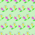 Alstroemeria. Seamless pattern texture of flowers. Floral backgr