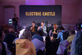 Alt-J band at a press conference Royalty Free Stock Photo