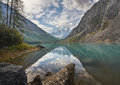 Altai mountains mountain lake russia siberia chuya ridge Stock Photography
