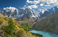 Altai mountains mountain lake russia siberia chuya ridge Royalty Free Stock Images