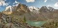 Altai mountains mountain lake russia siberia chuya ridge Stock Image