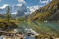 Altai mountains mountain lake russia siberia chuya ridge Royalty Free Stock Image