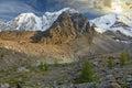 Altai mountains mountain lake russia siberia chuya ridge Stock Photos