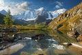 Altai mountains mountain lake russia siberia chuya ridge Stock Photography